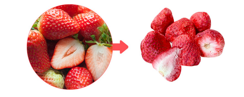 Bebe Freeze-Dried Strawberry 12g