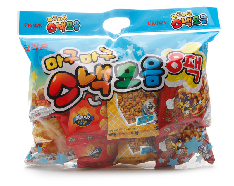 Crown Magu Magu Snack Collection (8 Packs per Box)