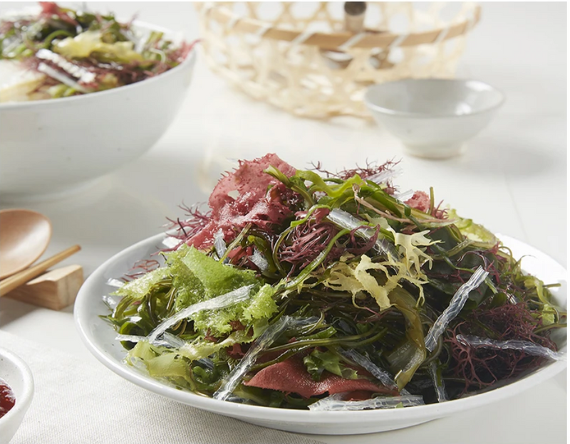 Taste the delicious Easy to Cook Bibimbap Seaweed Salad 10g (With Bibim Sauce) from Seoul Mills.