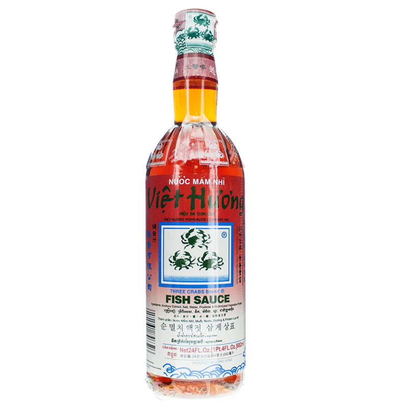 Three Crabs Fish Sauce 24oz