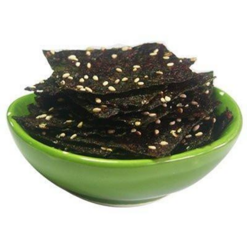 Traditional Red Pepper Paste Seasoned Seaweed (Cheongtae) 4 Sheets per Bag (Exp. Date: 03/30/2021)