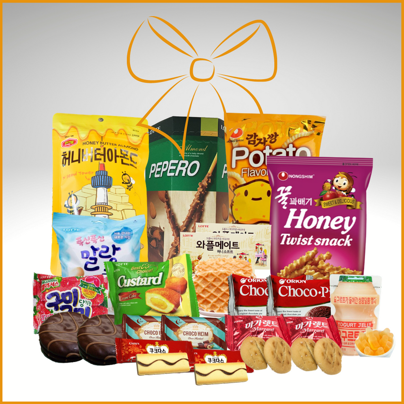 Korean Snack Party Box