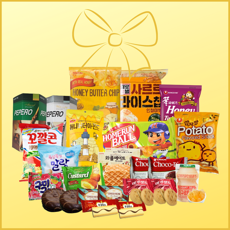 Ultimate Korean Snack Party Box