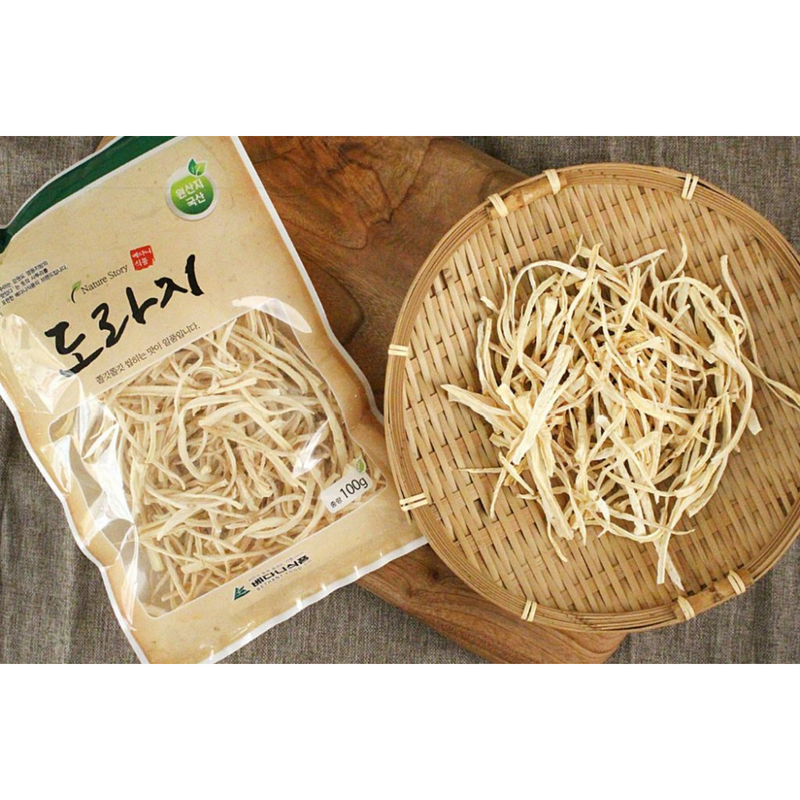 Dried Bellflower Roots (Doraji) 100g