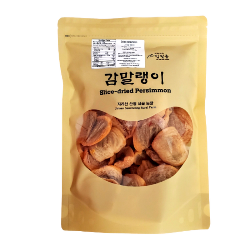 [LIMITED TIME OFFER] Jirisan Gojongsi Slice-dried Persimmon 500g BUY ONE GET ONE FREE!