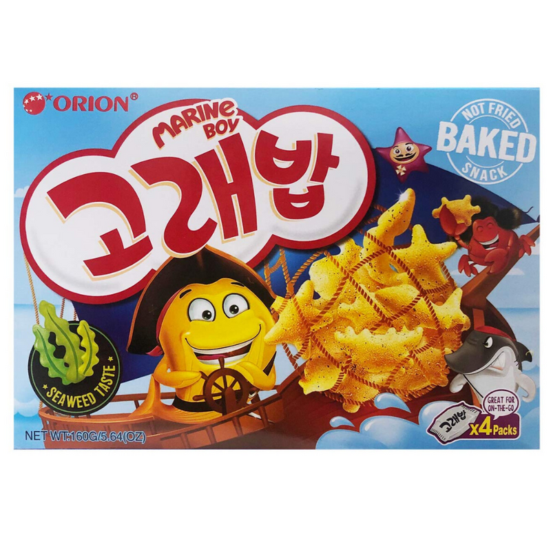 Orion Marine Boy Baked Snack Multipack (4 Packs per Box)