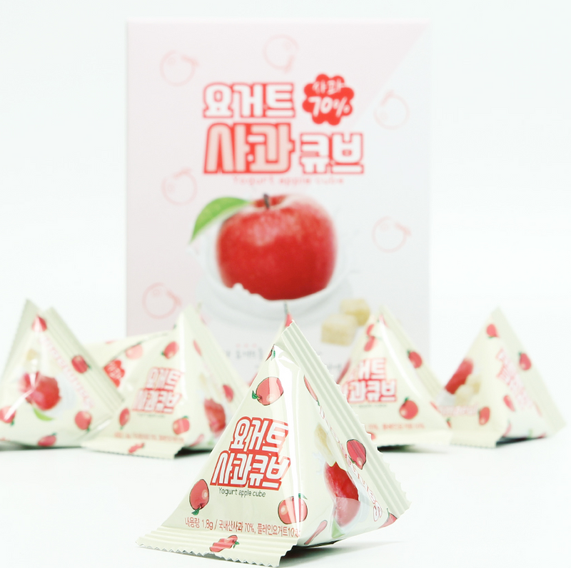 Sanmaeul Yogurt Apple Cube 1.8g (10 Packs per Box)