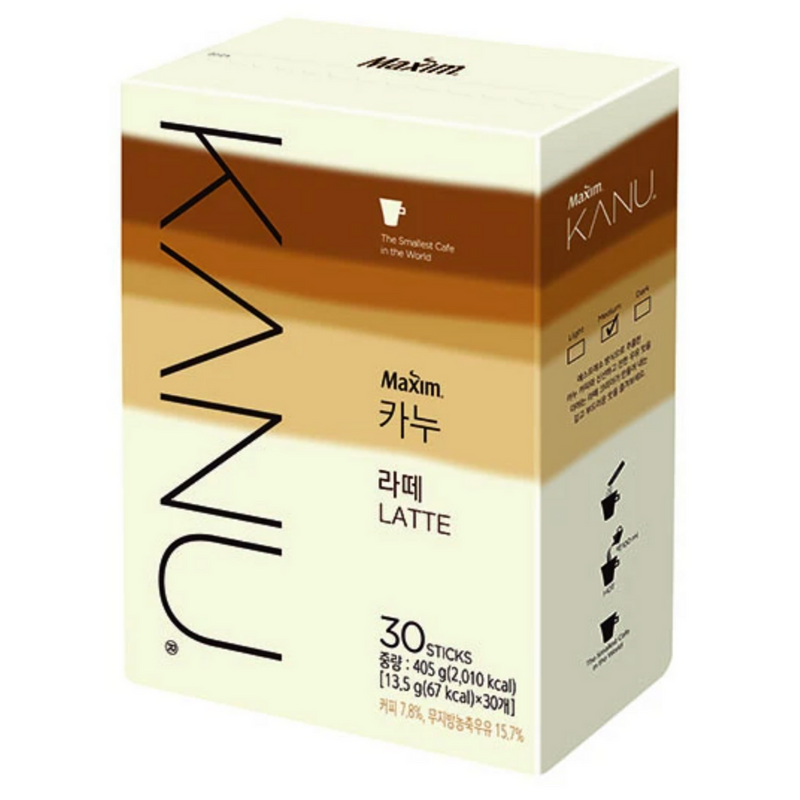 MAXIM KANU Latte 13.5g (30 sticks)