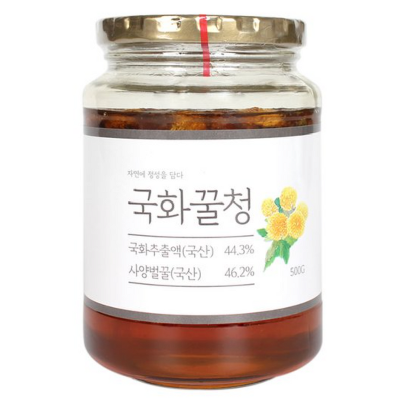Korean Chrysanthemum Flower Honey Tea 500g