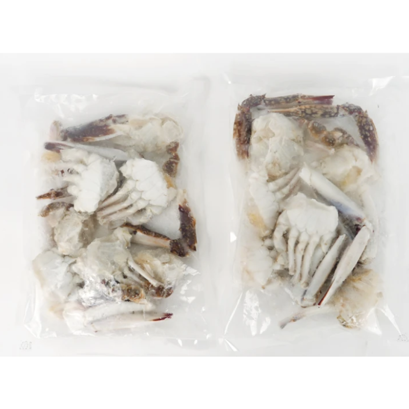 [SEPARATE FREE SHIPPING] Cut Frozen Korean Blue Crabs 1.5kg (13~16 pieces)