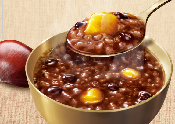 Yangban Sweet Red Bean and Chestnut Porridge