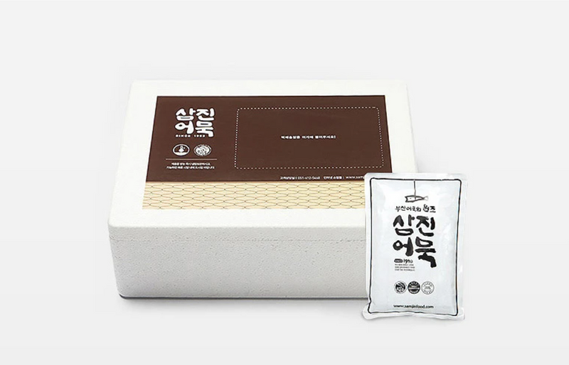 [SEPARATE FREE SHIPPING] Famous Busan Samjin Fish Cake Set (5 types)