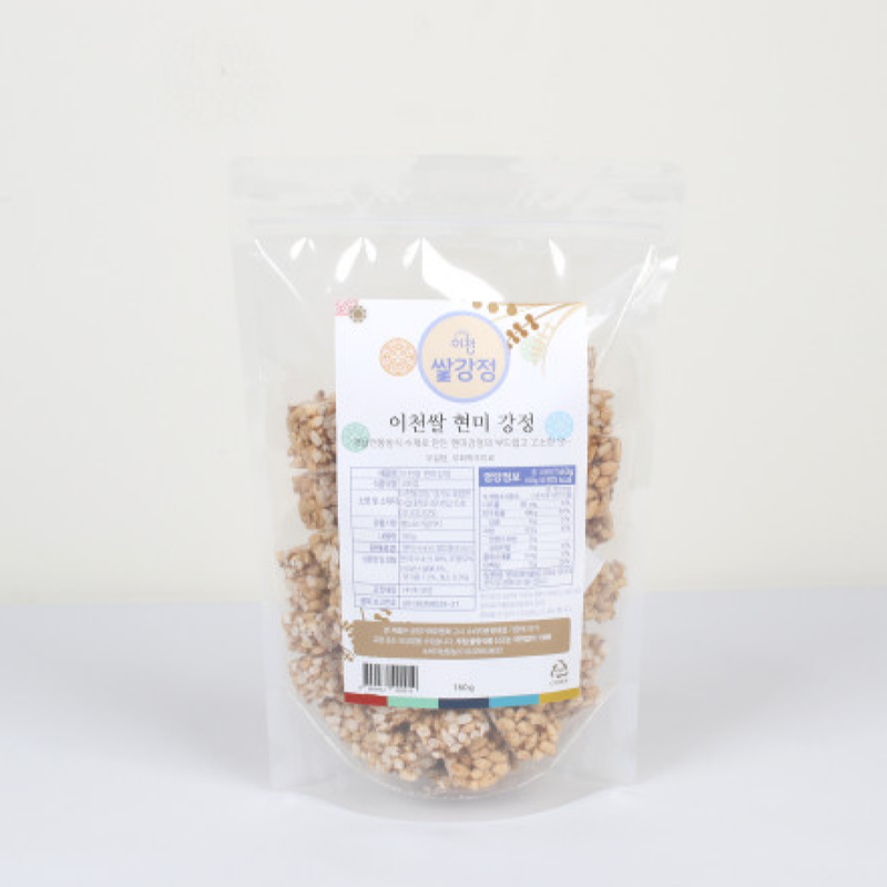 Brown Rice Korean Snack (Gang-Jeong)160g