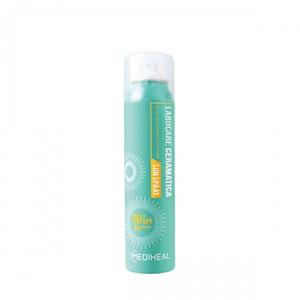 SeoulMills patented sun spray is perfect for the outdoors!