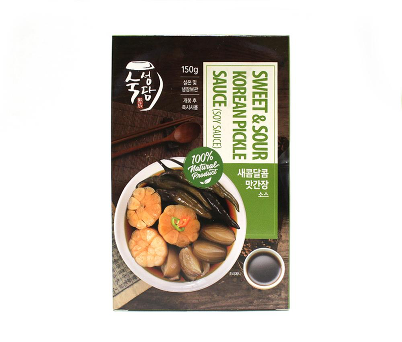 Sweet and Sour Korean Pickle Sauce 30g (5 Sticks per Box at 1 Box)