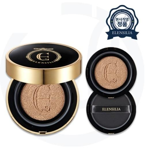 Elensilia Escargot Essence Cover Cushion Premium BOGO (Body + Refill)