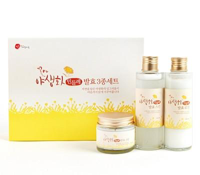 Cconma Wildflower Fermented Dandelion Extract Skin Care Kit