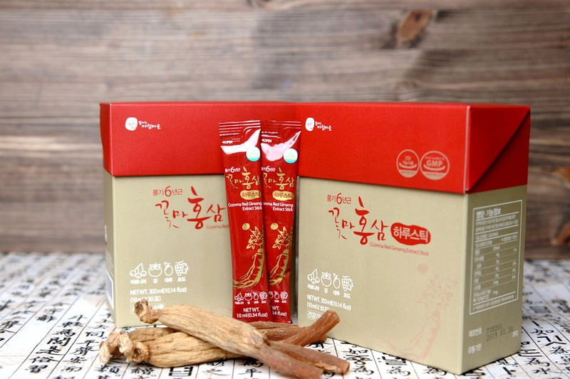 Cconma Red Ginseng Concentrated Extract Stick 10ml (30 Packs per Box)