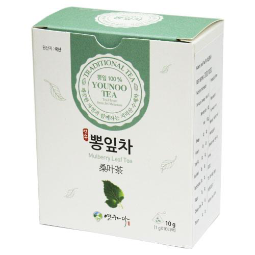 SeoulMills presents the Younoo Health Tea collection featuring mulberry health tea.