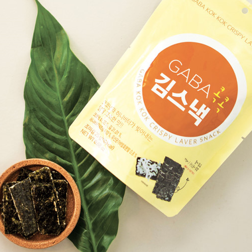 Try the tasty GABA Honey Butter Coconut Laver Chips at Seoul Mills.