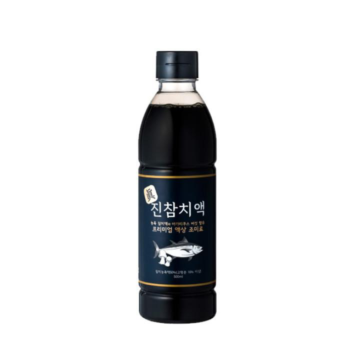 Jinchamchi Fish Sauce (True Tuna) 500ml