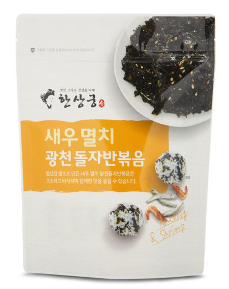 Try the Gwangcheon Stir-Fried Seasoned Seaweed Set from Seoul Mills!