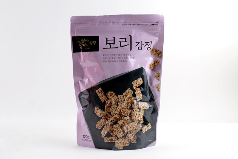 Youngsan Granny Barley Crunch Korean Snack 120g