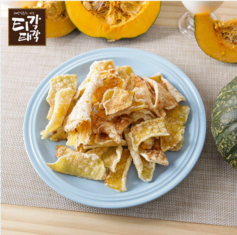 SeoulMills Pumpkin Chips are a perfect combination of sweet pumpkin.