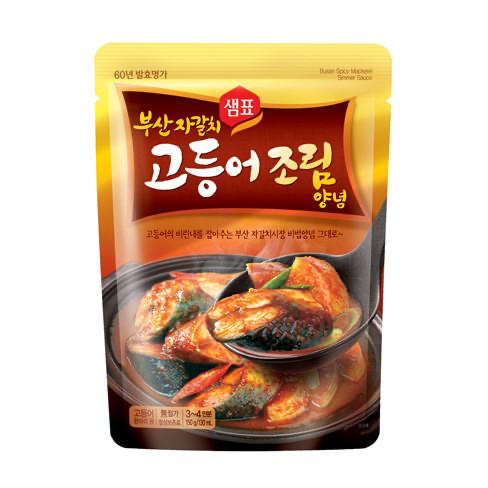 Sempio Busan Braised Mackerel Spicy Seasoning Marinade 100g