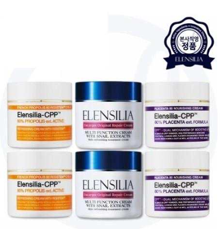 SeoulMills partnered with Elensilia skin cream.