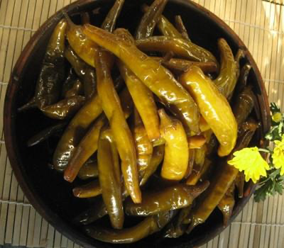 CheongyangGol Pickled Chili Pepper (Spicy) 500g