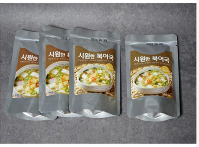 Alcheon Farm Dried Pollock Soup Base 12g (4 Bags per Box)