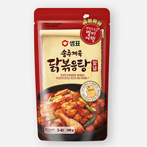 Sempio Songchu Valley Braised Chicken Seasoning Sauce 180g