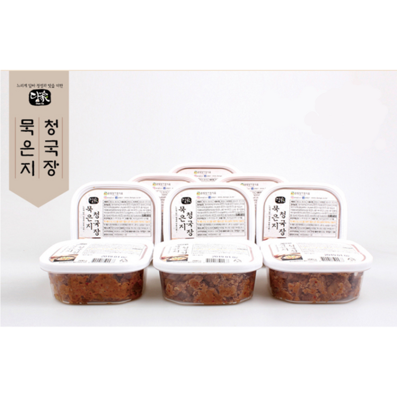 [SEPARATE FREE SHIPPING] Extra Strong Fermented Soybean Paste with Ripened Kimchi (Cheonggukjang) 200g x 8 Pack