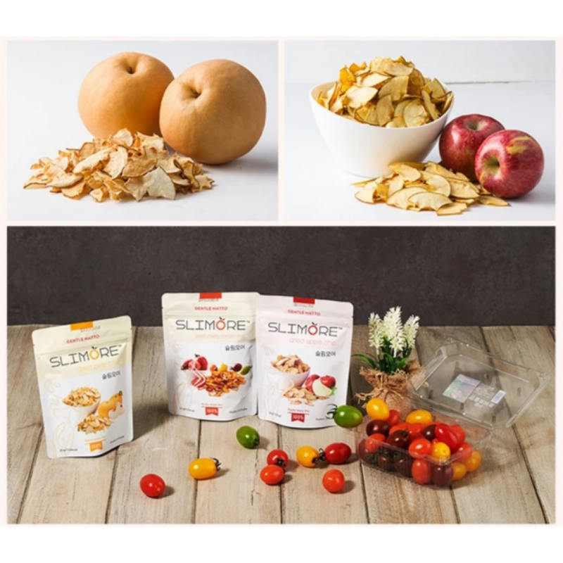Slimore Dried Apple Chips 25g x 3 bags per Order
