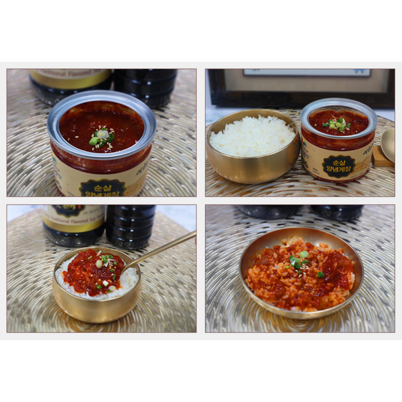 [SEPARATE FREE SHIPPING] Chef Lee Hajung's Special Marinated Crab Meat 3 Flavor Set