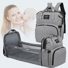 HappyBaby™ - 2 in 1 Diaper Bag & Cot Bed