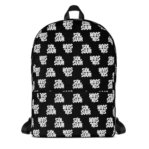 Checkered Logo Backpack