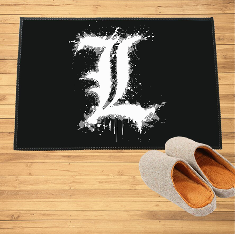 Paillasson Death Note L Logo - Paillasson.shop