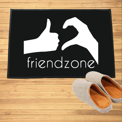 Paillasson humoristique - Friendzone - Paillasson.shop