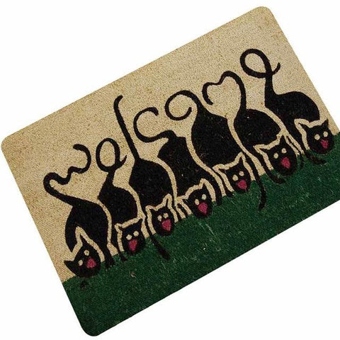 Paillasson  chat | humour  | welcome - Paillasson.shop