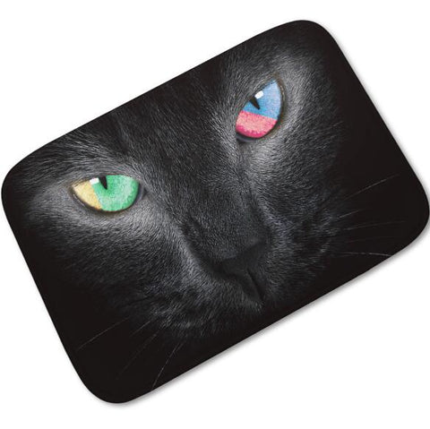 Paillasson chat noir - Paillasson.shop