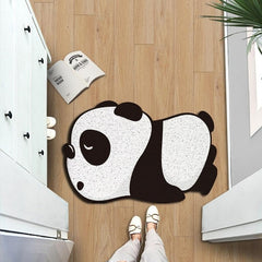 Tapis en forme d'animaux cartoon