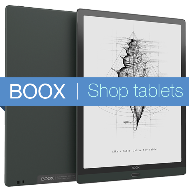 BOOX tablets on sale