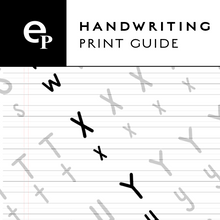 Load image into Gallery viewer, Onyx BOOX - Traceable Print Handwriting Guide