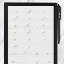Load image into Gallery viewer, Onyx BOOX - Traceable Cursive Guide Bundle