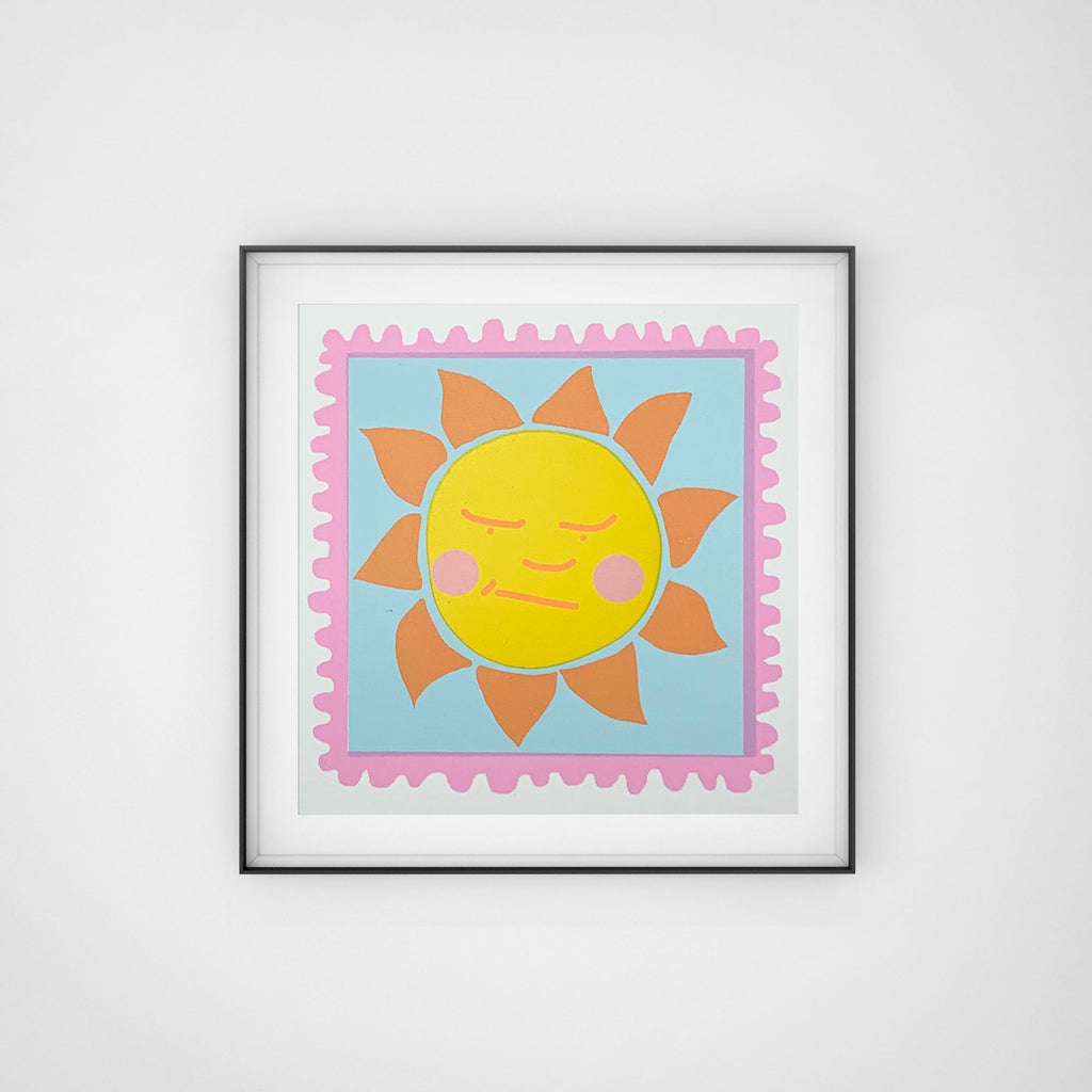 Sunshine Screen Print Hannah Carvell