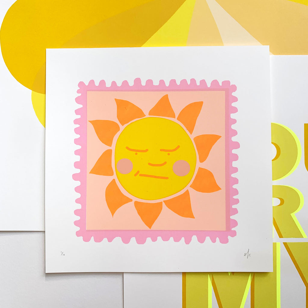 A Little Ray of Sunshine | PINK