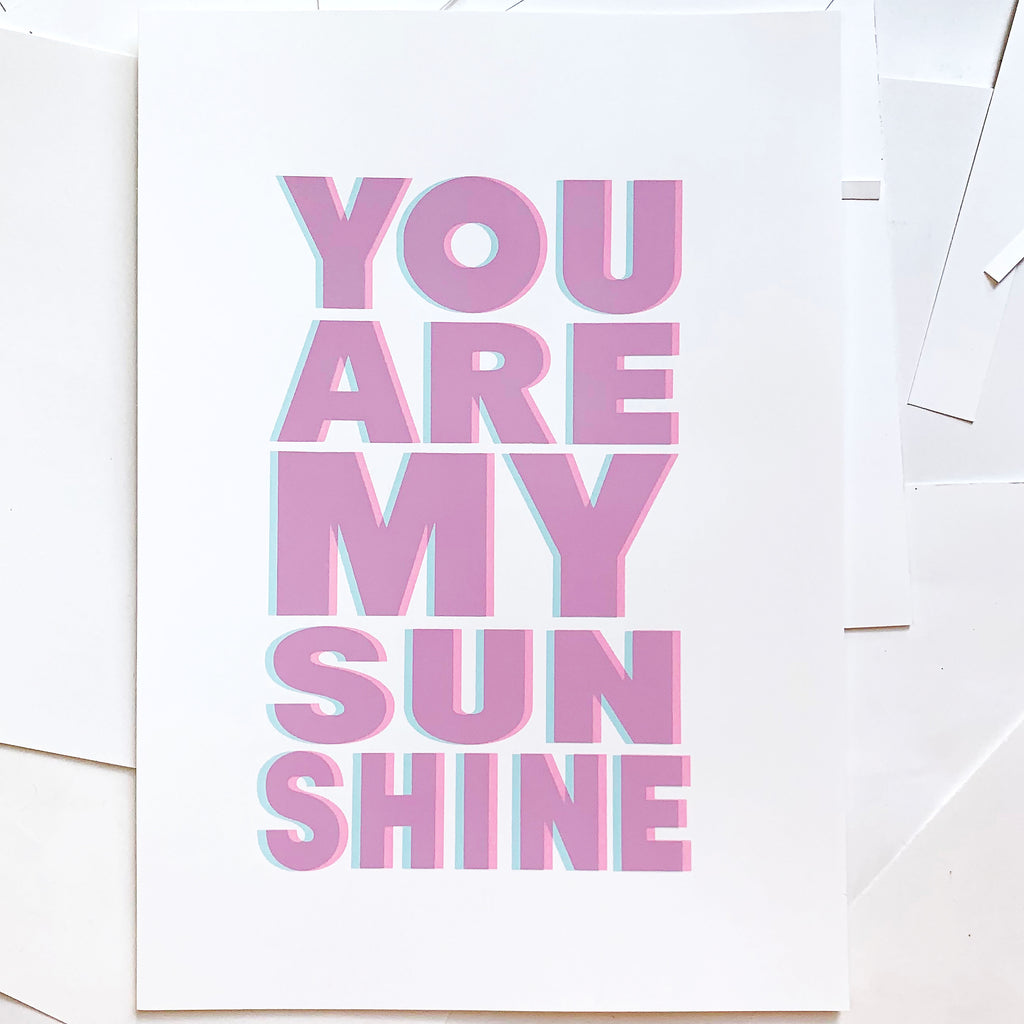 YOU ARE MY SUNSHINE | A3 | LlLAC