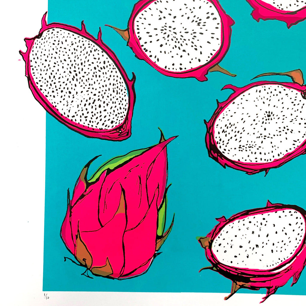 Neon Dragon Fruits